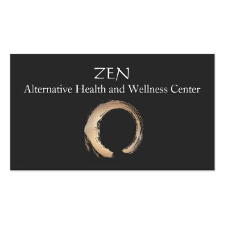 Zen Circle Enso Yoga and Meditation Buddhist 3 Pack Of Standard Business Cards