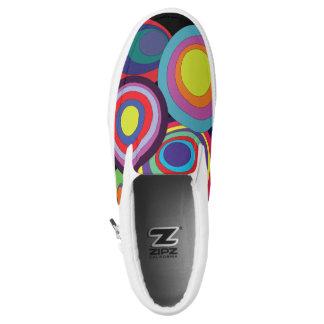 Zen circles tennis shoes