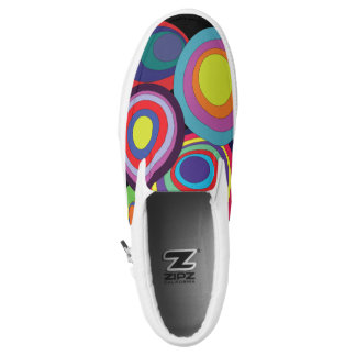Zen circles tennis shoes printed shoes