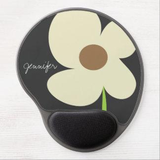 Zen Daisy Personalized Gel Mousepad