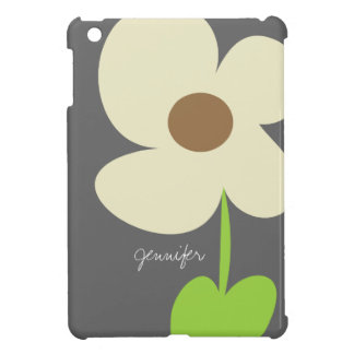 Zen Daisy Personalized iPad Mini Case