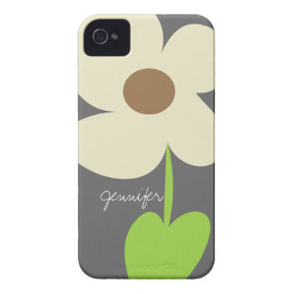 Zen Daisy Personalized iPhone 4/4S Case-Mate Case