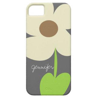 Zen Daisy Personalized iPhone 5/5S Case