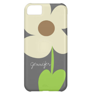 Zen Daisy Personalized iPhone 5C Case-Mate Case