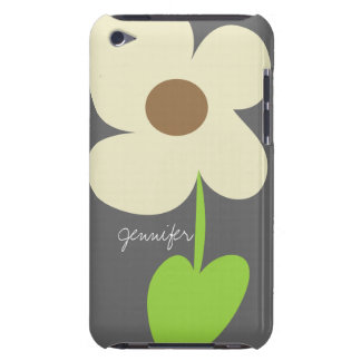 Zen Daisy Personalized iPod Touch 4 Case-Mate Case Barely There iPod Cases