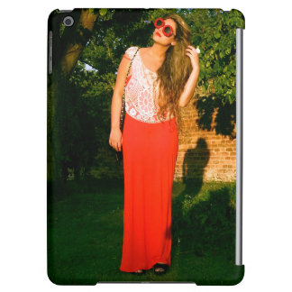Zen Dal Monaco Girl Flower Glasses - iPad Air Case