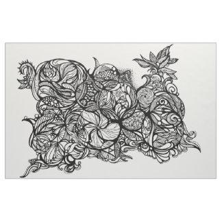 Zen Doodle 4 Fabric