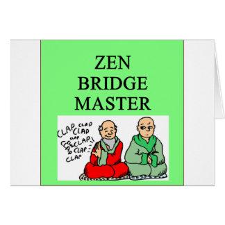 zen duplicate bridge master card