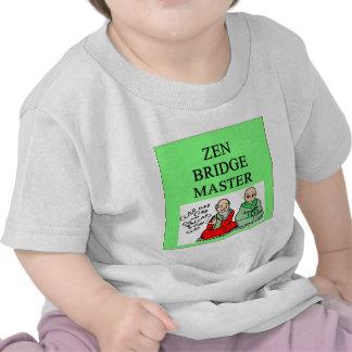 zen duplicate bridge master tee shirt
