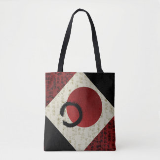 Zen Ensō Circle with Kanji Potential  1 Tote Bag