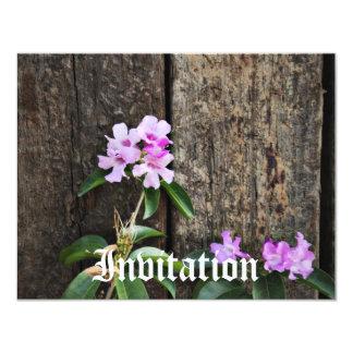 Zen Flowers 11 Cm X 14 Cm Invitation Card