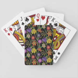 Zen Flowers Playing Cards