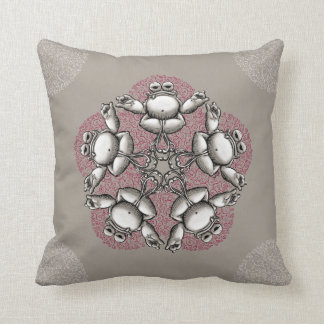Zen Frog Cushion