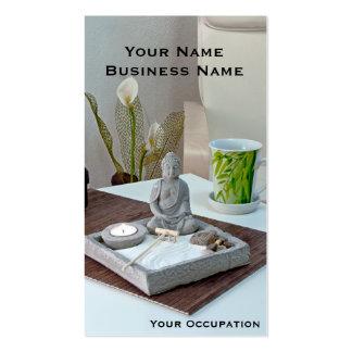 Zen Garden Buddha Business Card
