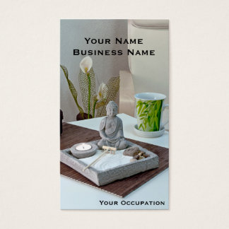 Zen Garden Buddha Business Card