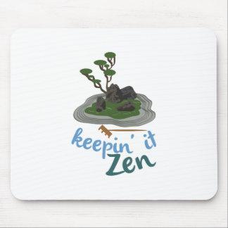 Zen Garden Keepin it Zen Mouse Pad
