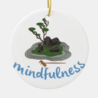 Zen Garden Mindfulness Christmas Ornament