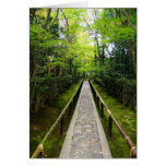 Zen Garden Path Note Card