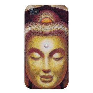 Zen Golden Buddha iPhone 4 Case
