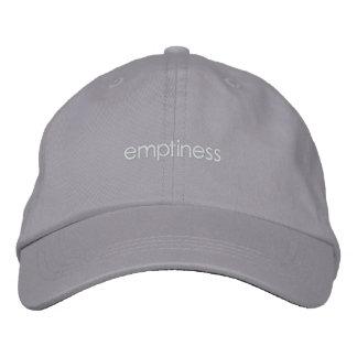 Zen hat embroidered hats