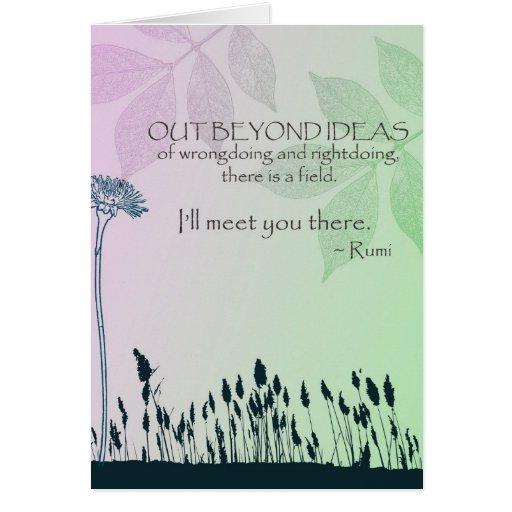 Zen Ideas Greeting Card