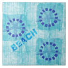 Zen Inspired Beach Theme Starfish Tile