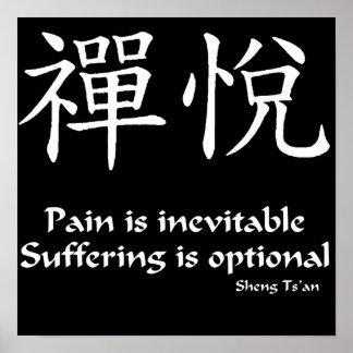 Zen Joy - Pain Poster