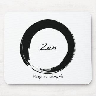 Zen Keep it simple Mouse Pad