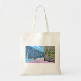 Zen Lotus Bath Budget Tote Bag