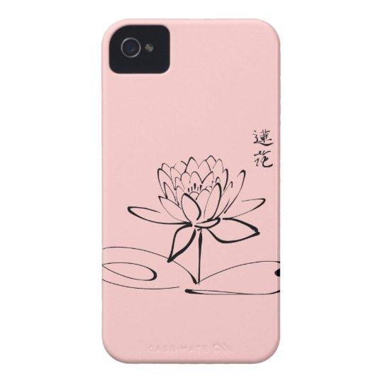 Zen Lotus Flower iPhone 4 Case-Mate Case