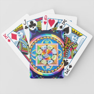 Zen Mandala Bicycle Playing Cards