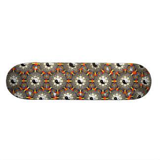 Zen Mandala Skateboard