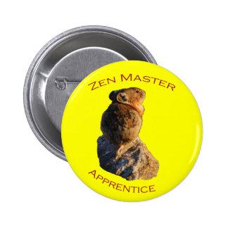 Zen Master Pinback Button