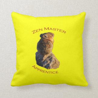 Zen Master Throw Pillow