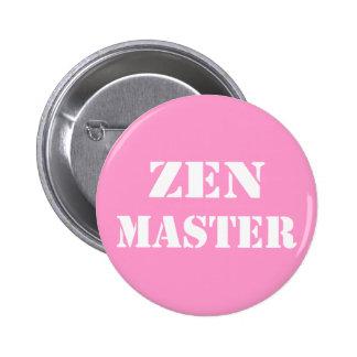 Zen Master Gifts 6 Cm Round Badge