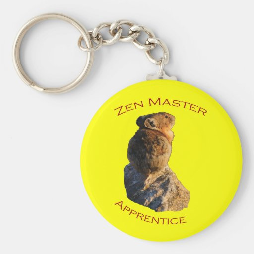 Zen Master Keychains
