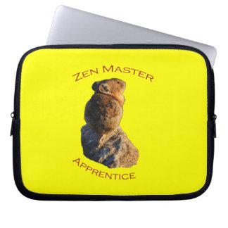 Zen Master Laptop Computer Sleeves