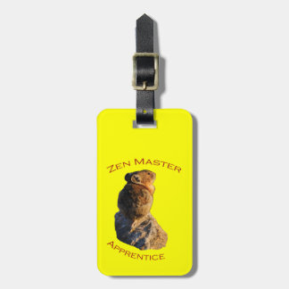 Zen Master Luggage Tag