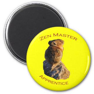 Zen Master Fridge Magnets