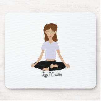 Zen Master Mouse Pad