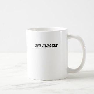 ZEN MASTER BASIC WHITE MUG