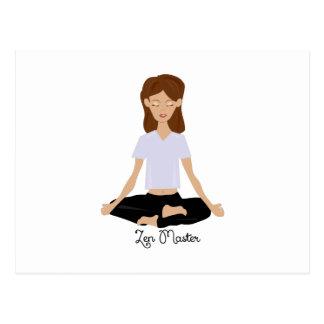 Zen Master Postcard