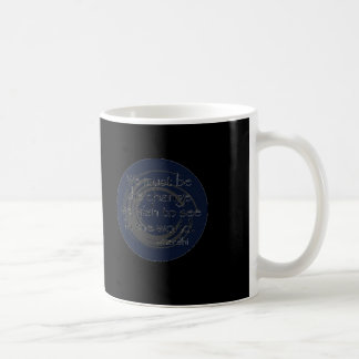 Zen Master quote Classic White Coffee Mug
