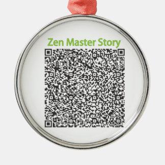 Zen Master Story in QR Code Ornaments