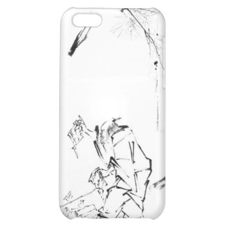 Zen meditation phone cover for iPhone 5C