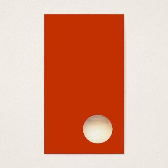 Zen Minimalist Faux Gold Foil Circle Cool Creative
