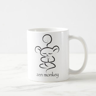 Zen Monkey Coffee Mug