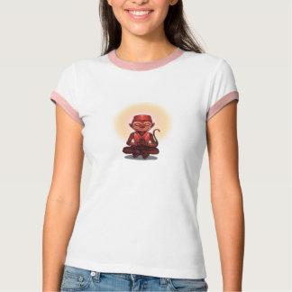 Zen Monkey Custom Text T-shirts
