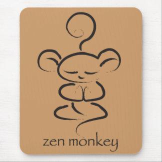 Zen Monkey Mouse Mat