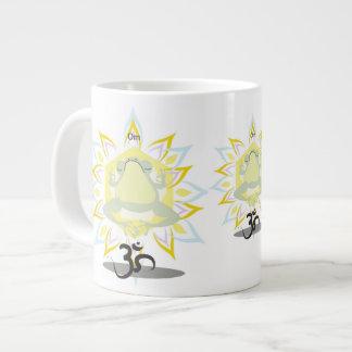 Zen Om Frog~specialty mug Jumbo Mug